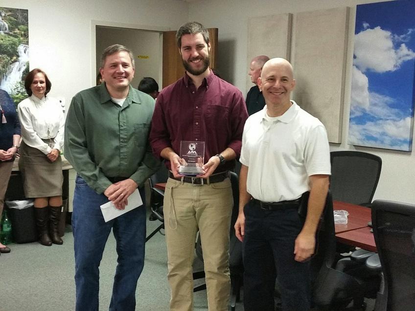 Kel Markert receives award