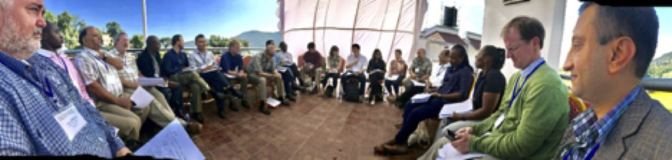 panorama pic of break-out session attendees