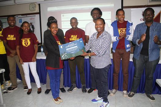 Team Maji Maji at Space Apps Nairobi