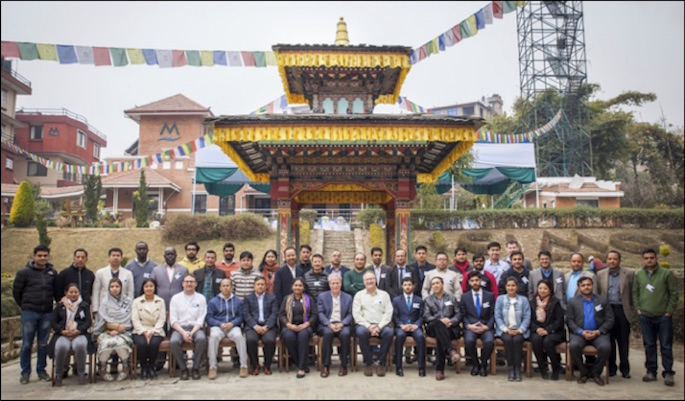 Group Photo of SAR Training in Kathmandu