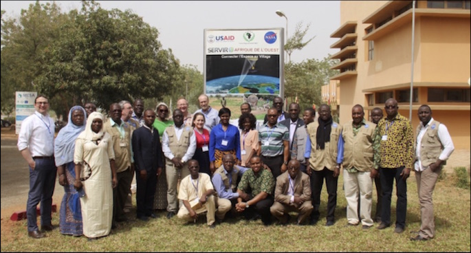 Group Photo of SAR Training in Niamey