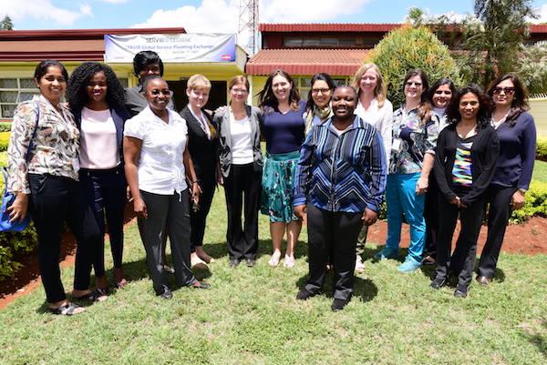 SERVIR women participants at Service Planning Exchange