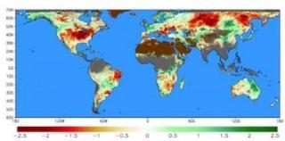 Evaporative Stress Index screenshot