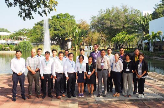 Group Photo of participants outside of AIT
