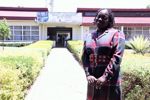 Nancy Rapando of University of Nairobi