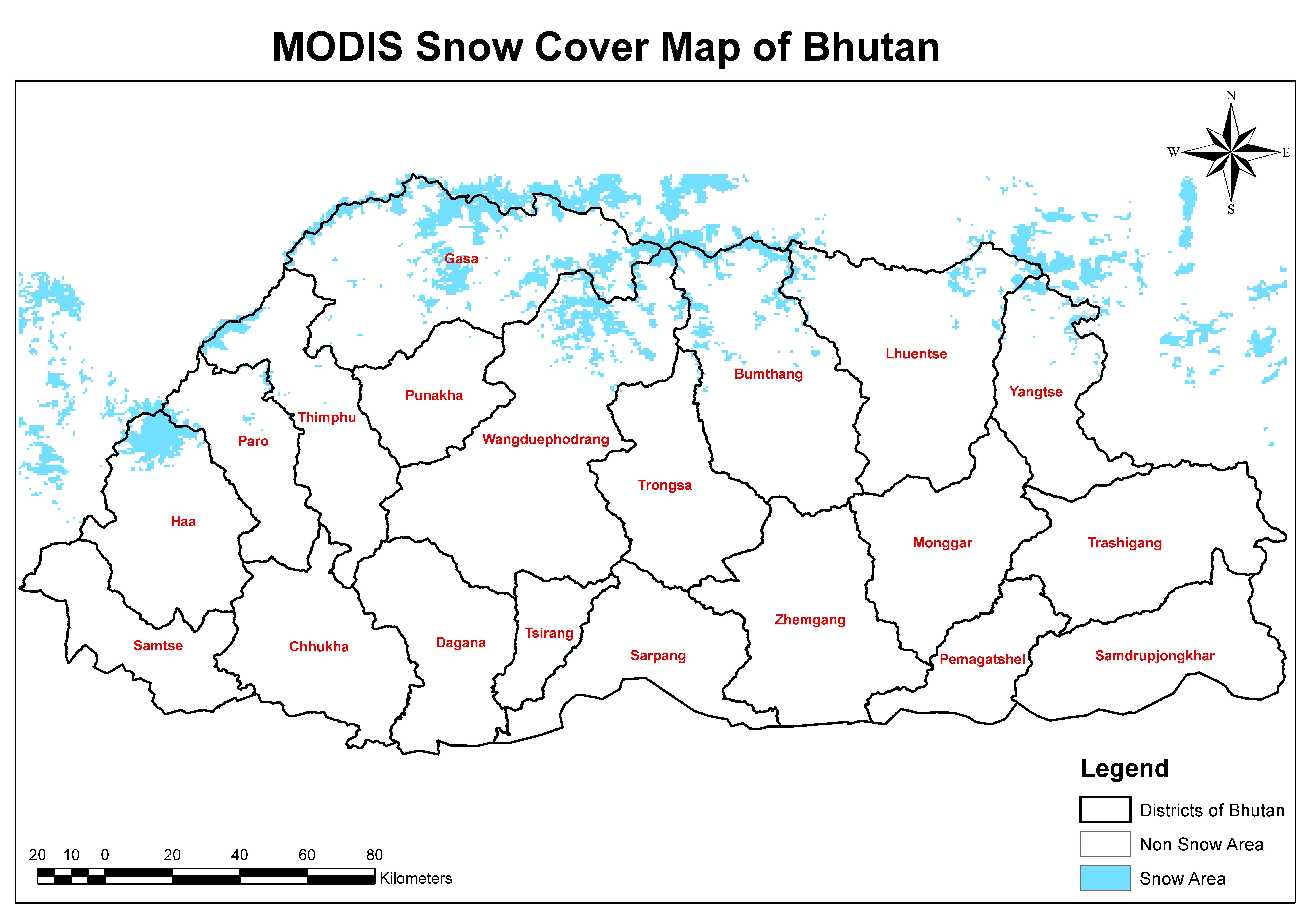 nasa modis environmental data from servir himalaya to help modis snow cover map