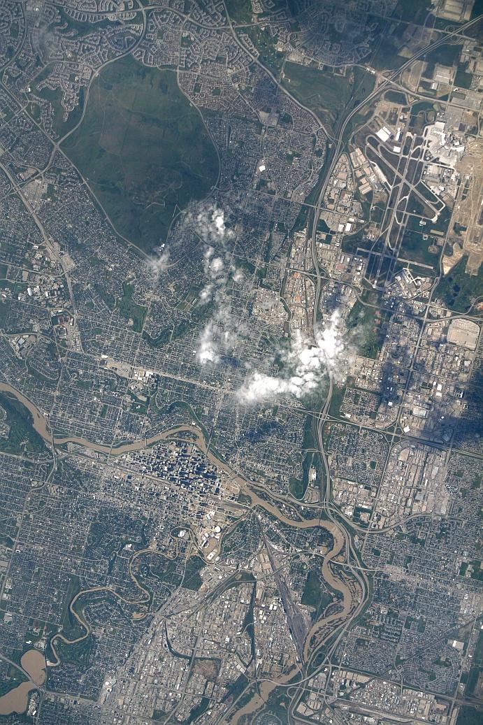 Calgary Canada Flood ISERV image