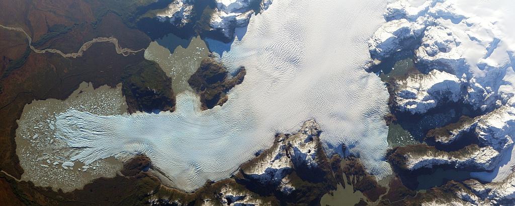 ISERV image of San Quintín glacier