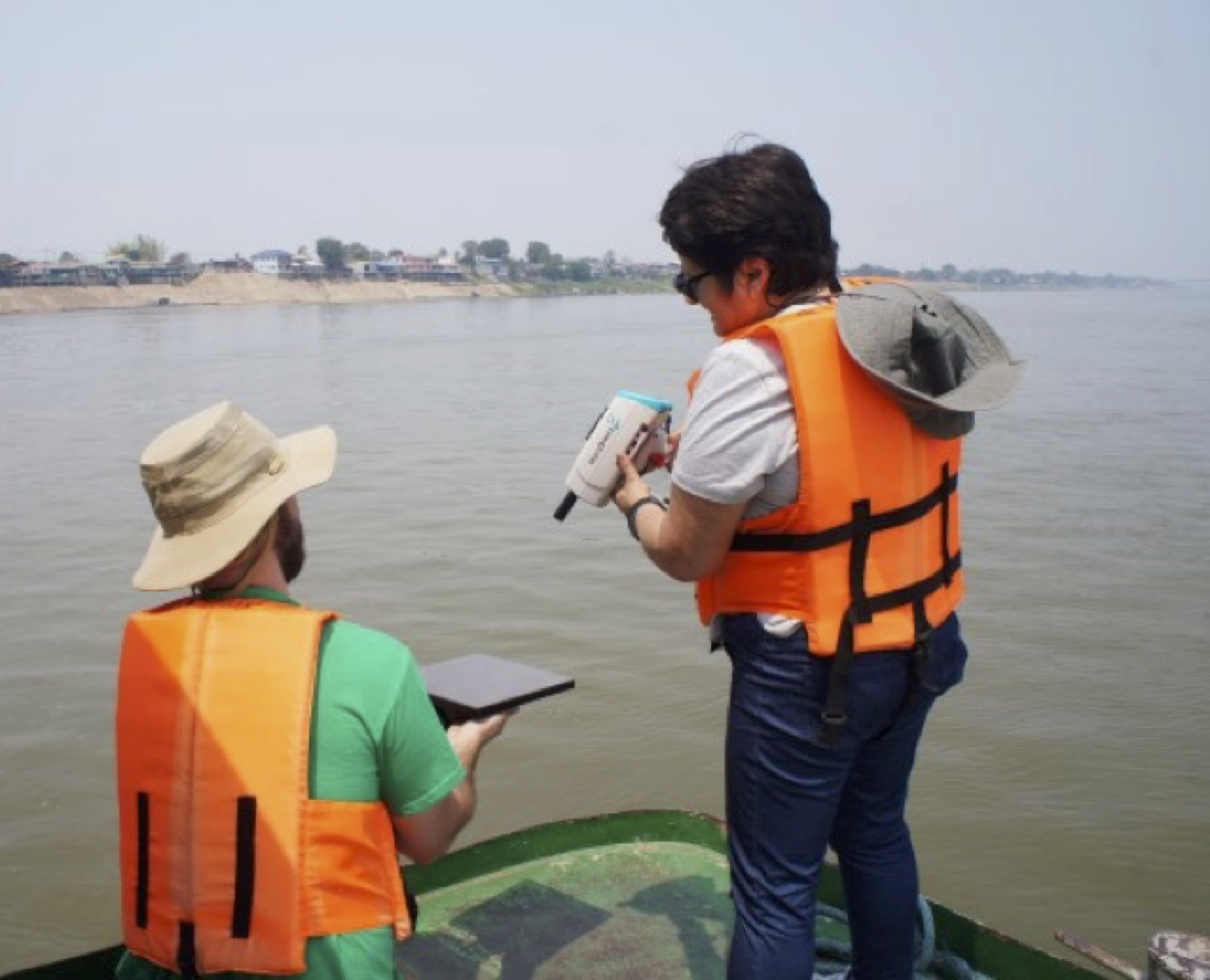Monitoring The Mighty Mekong River's Water Quality From