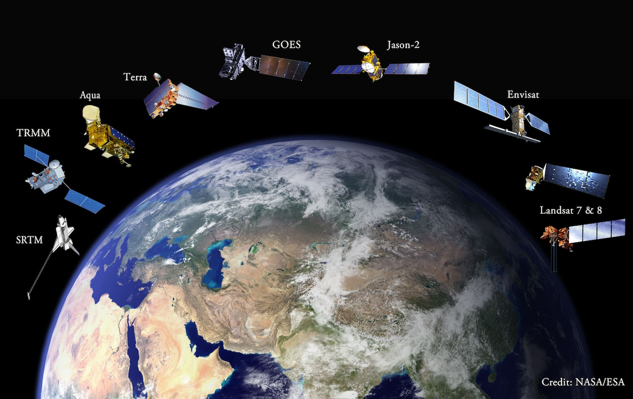 Satellites hold secrets to understanding remote rivers servir team of earth observation satellites sciox Gallery