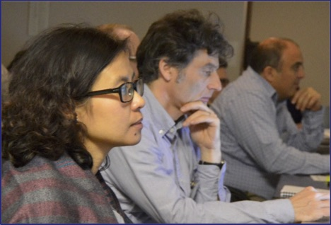 Quyen, Baccini and Saah attending session