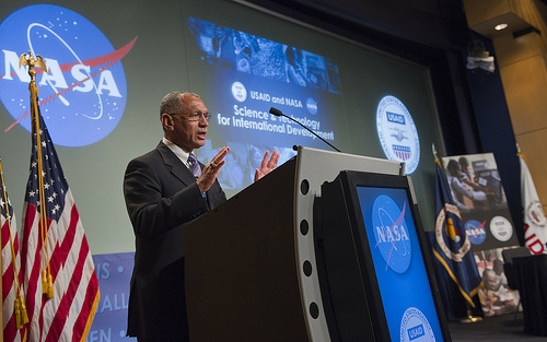 NASA Administrator Charles Bolden describes the SERVIR program