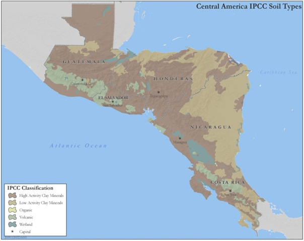SERVIR Hosts US EPA Land Useland Cover Maps Of Central America - Land use classification map us