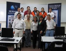 El Salvador workshop participants