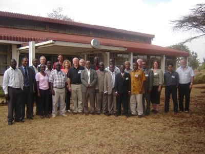 Participants of consultative workshop at RCMRD