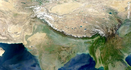 Himalayas From Space NASA (page 2) - Pics about space